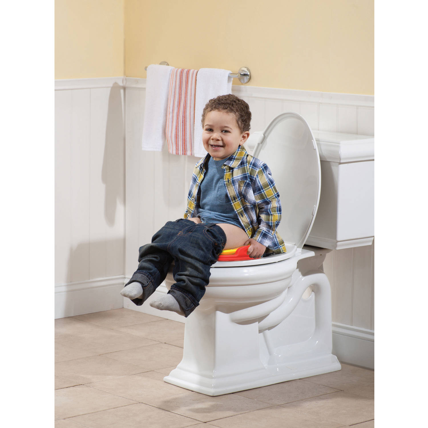 Disney Mickey Mouse 3-in-1 Potty Training Toilet Toddler Toilet Training Set u0026&; Step Stool - Walmart.com  sc 1 st  Walmart & Disney Mickey Mouse 3-in-1 Potty Training Toilet Toddler Toilet ...