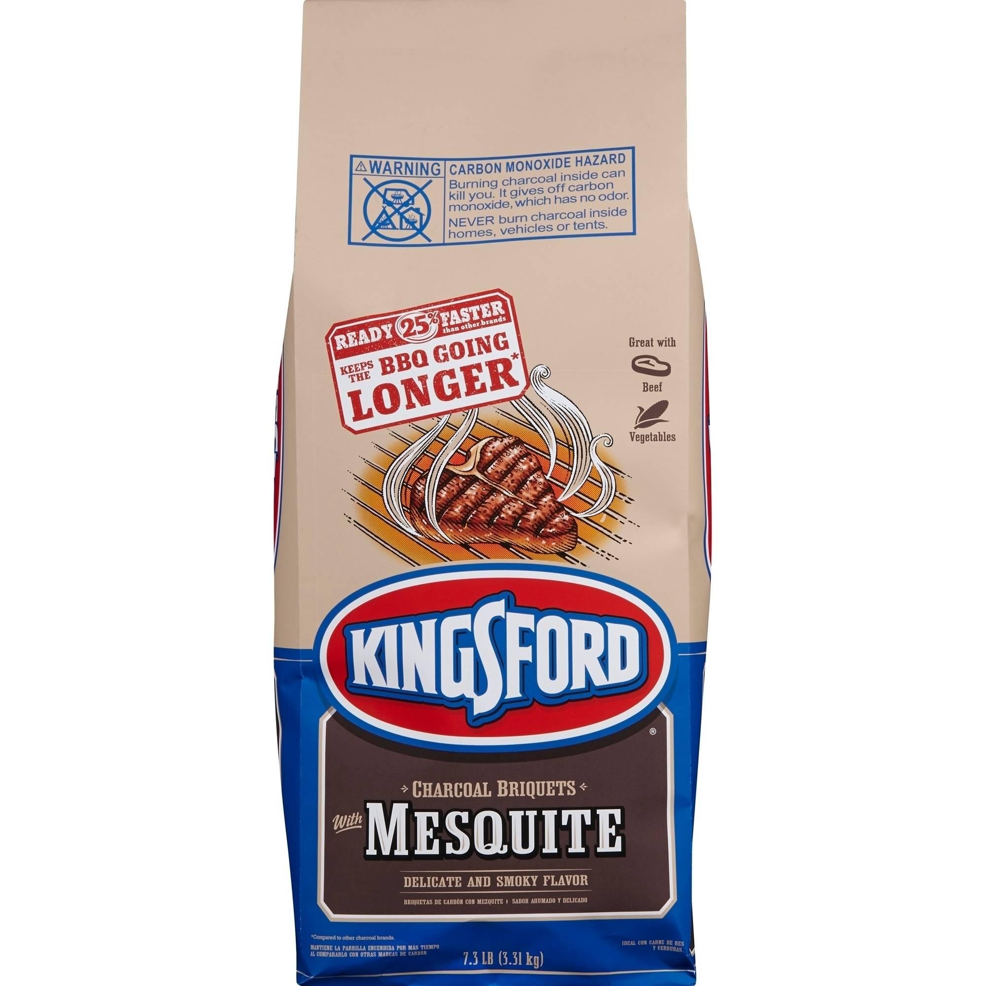 Kingsford Charcoal Briquets, Mesquite, 7.3 Pounds