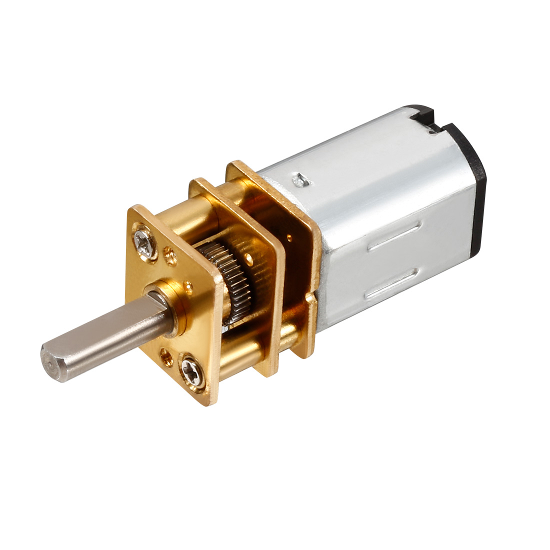 DC 3V 200RPM 12mm Gearbox 3mm Shaft Electric Geared Box Speeducer  Motor