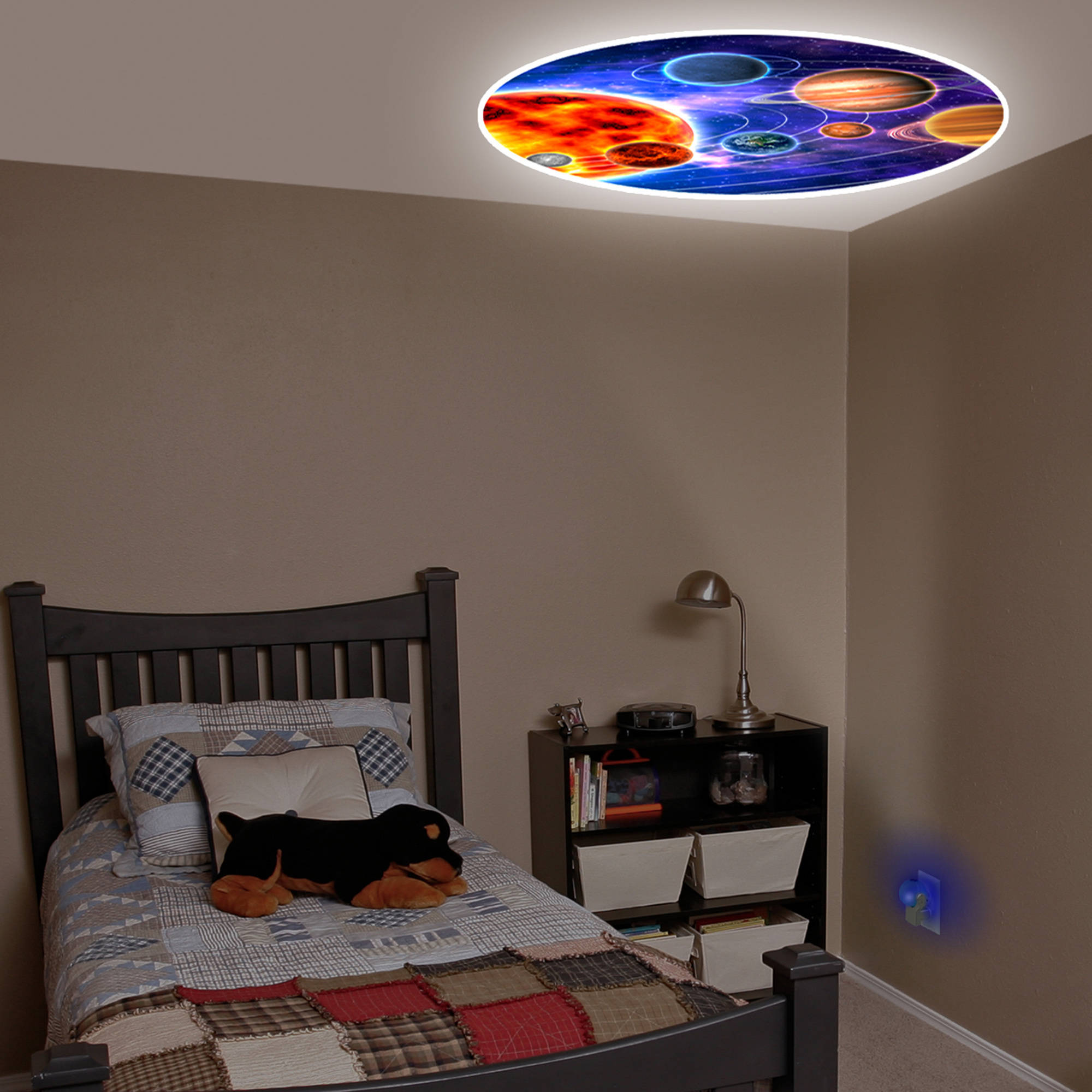 Projectables Night Light LED Projection Planet Design Plastic