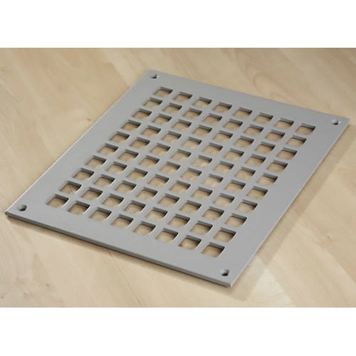 "Reggio Registers G1012-SH Grid Series 10"" x 8"" Grille with Mounting Holes"
