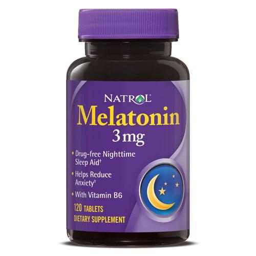 Natrol Melatonin 3mg Tablets, 120 Ct
