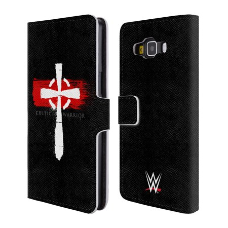 OFFICIAL WWE SHEAMUS LEATHER BOOK WALLET CASE COVER FOR SAMSUNG PHONES 2