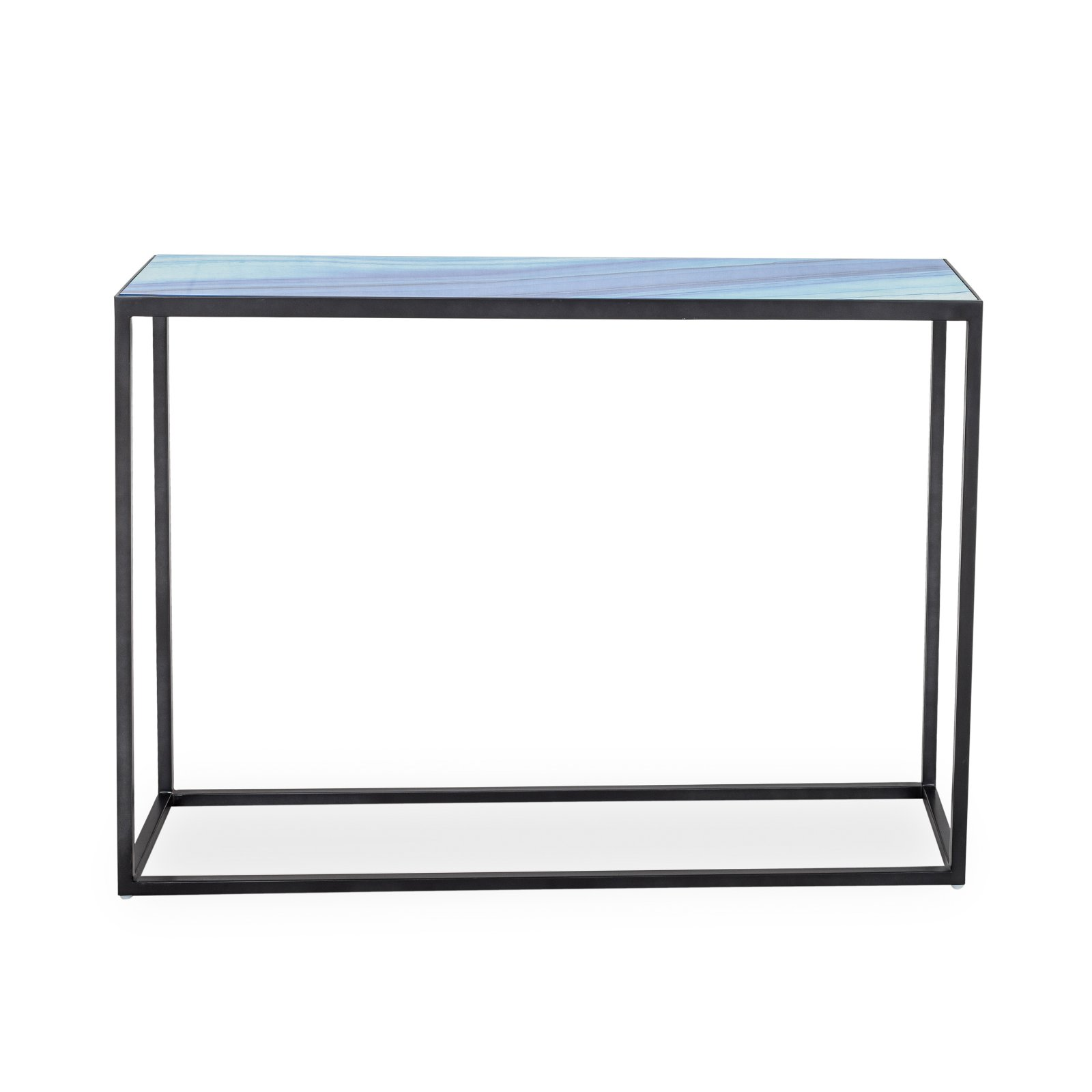 Seaside Glass Console Table