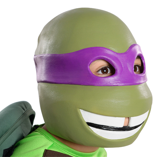 Kids Donatello Vinyl Mask Costume Accessory