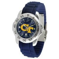 Suntime ST-CO3-GTY-SPORT-AC Georgia Tech Yellow Jackets-Sport AC AnoChrome Watch