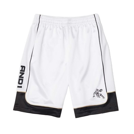 Boys' Polyester All Courts Color Block Basketball Gym & Workout Shorts