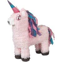 Unicorn Pinata, Pink, 13.5in x 22in
