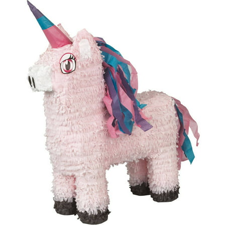 Unicorn Pinata, Pink, 13.5in x 22in - Lakers Pinata