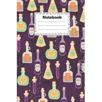 Notebook: pharmacy technician with cute cartoon bottles hand drawn: pharmacy technician Notebook for write ideas and gift for your loved and much more ( 100 page size 6x9 inches college ruled ) (Paper