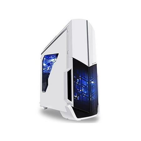 SkyTech ArchAngel GTX 1050 Ti Gaming Computer Desktop PC FX-6300 3.50 GHz 6-Core, GTX 1050 Ti 4GB, 8GB DDR3, 1TB HDD, 24X DVD, Wi-Fi USB, Windows 10 Pro 64-bit, White (GTX 1050 Ti