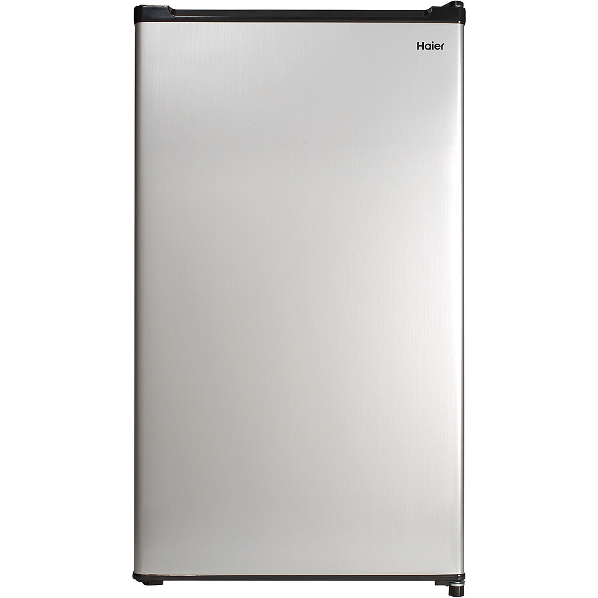 Haier 2.7 cu ft Refrigerator, Virtual Steel