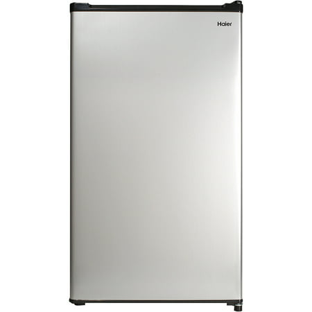 Haier 2.7 Cu Ft Single Door Compact Refrigerator HC27SW20RV, Steel ()