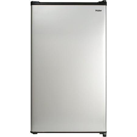 Haier 2.7 Cu Ft Single Door Compact Refrigerator HC27SW20RV, Steel
