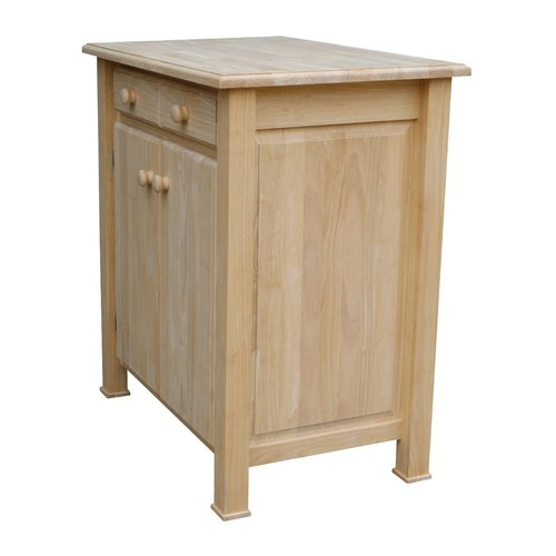 August Grove Toby Kitchen Cart