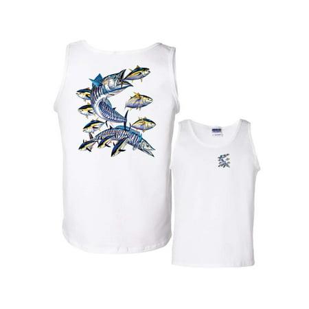 Wahoo Shorts - Wahoo Fish Albacore Yellowfin Fishing Tank Top