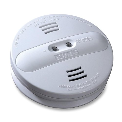 Kidde Smoke Detector, Photo Ion, Dual Sensor, Batt Opr, White by KIDDE