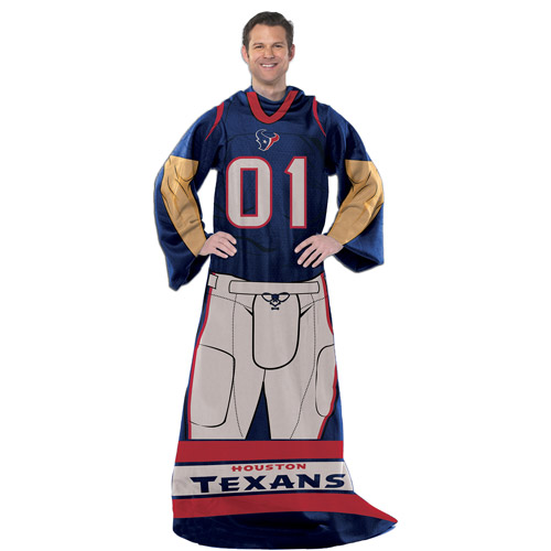 "NFL Player 48"" x 71"" Comfy Throw, Texans"