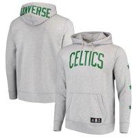 Boston Celtics Converse Essential Pullover Hoodie - Heathered Gray