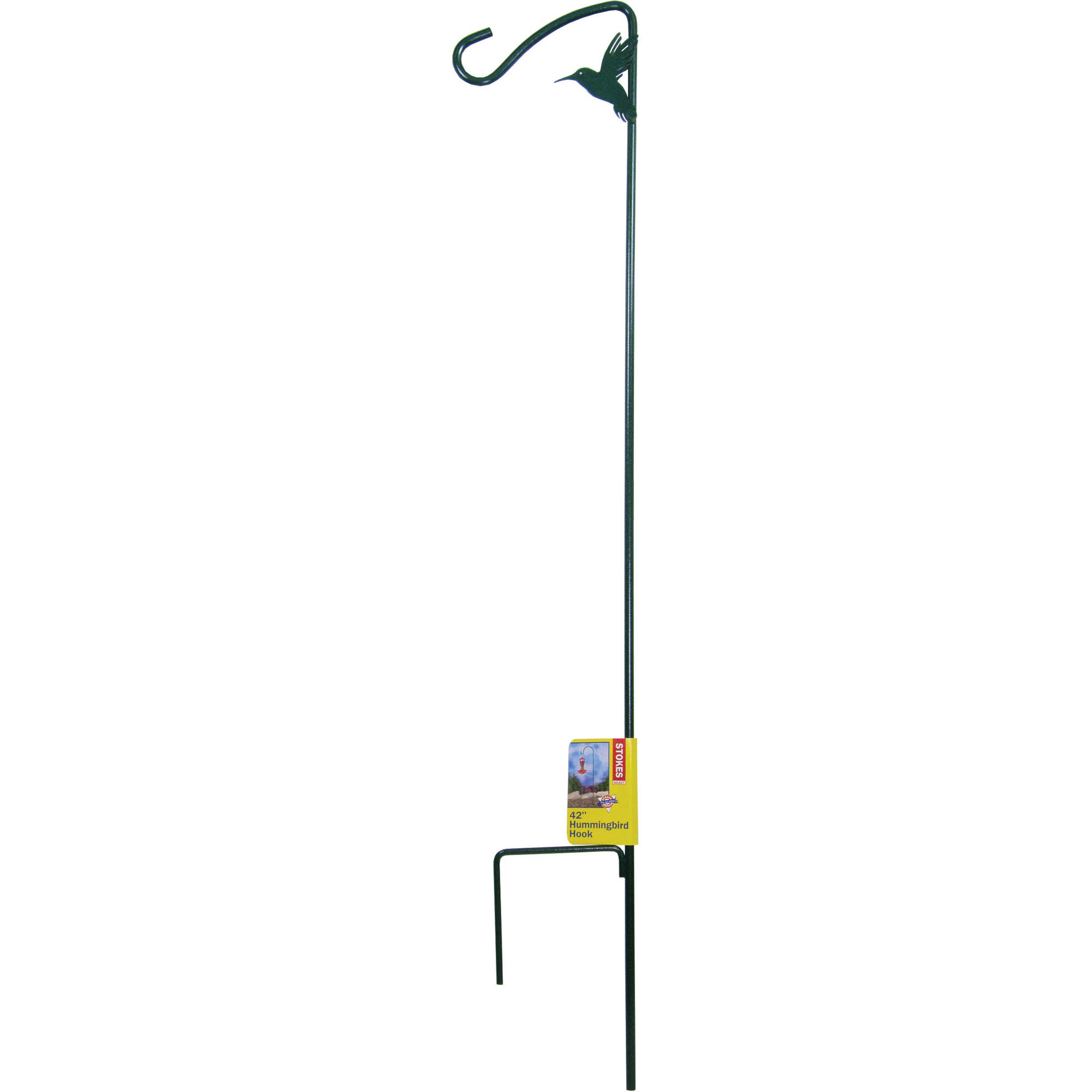 "Stokes Select 42"" Metal Stake with Hook for HummingBirdfeeders by Hiatt Mfg"
