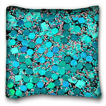 WinHome Chevron Gradient Wave Tribal Striped Geometric Pillowcase Throw Cushion Pillow Case Cover Anchor Light Blue Coral Teal Pink Mint Green Turquoise Aqua Grey Beige For Home Sofa Size 20x20 (Green Toile Quilted Pillow)