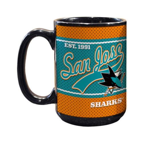 NHL - San Jose Sharks 15oz. Jersey Mug
