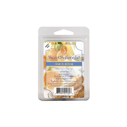 ScentSationals Rise and Shine Fragrance Cubes, 6pk