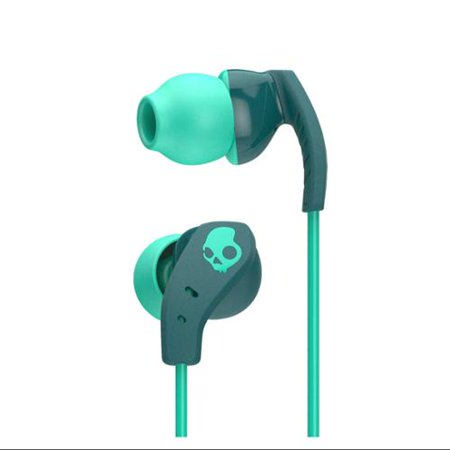 Skullcandy Method Inear Sweat Resistant Sports Earbud  Teal Green