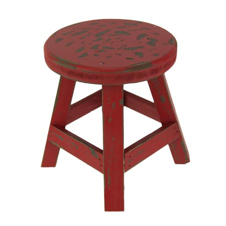 Magnificent Rustic Red Wooden Farmhouse Milking Stool Plant Stand Gamerscity Chair Design For Home Gamerscityorg