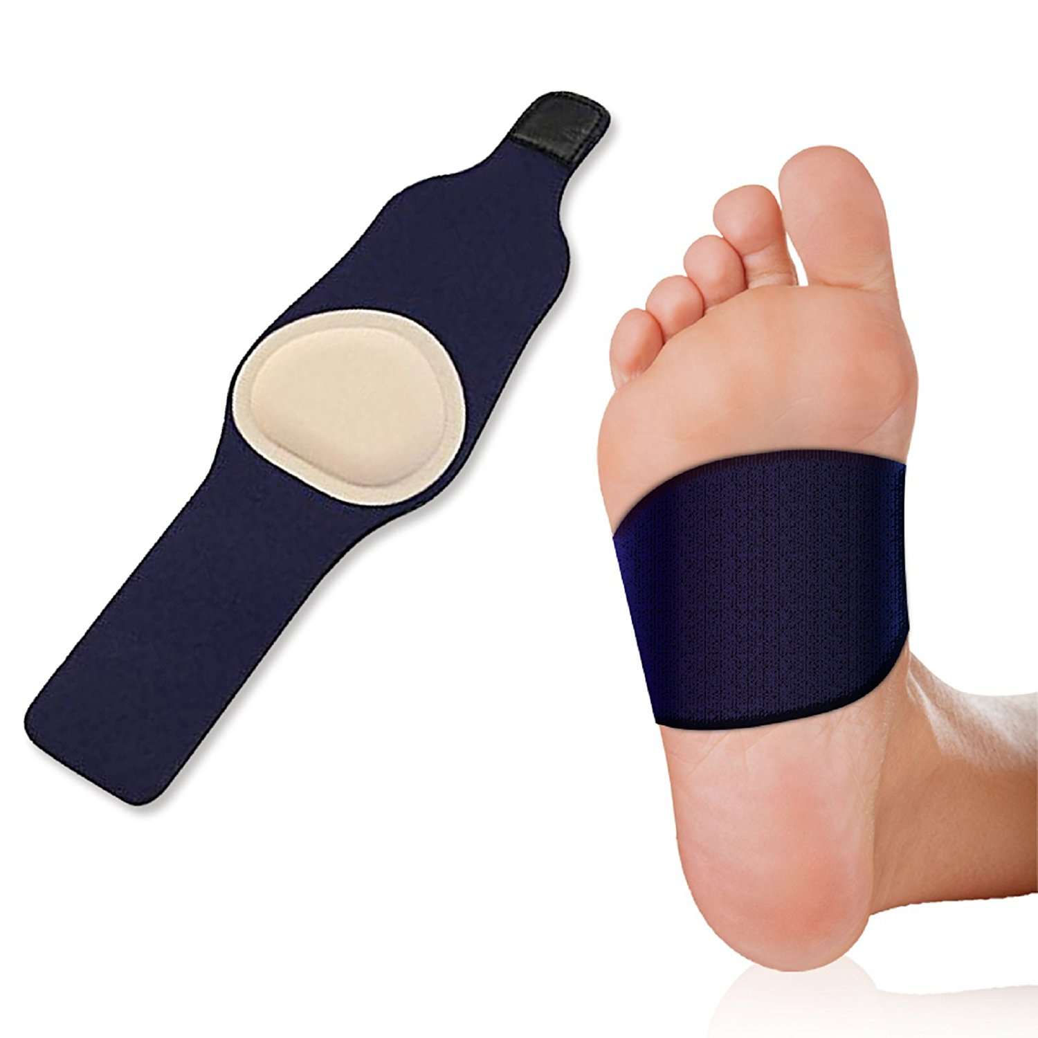 most popular new arrival popular stores Plantar Fasciitis Arch Support Foot Pain Sleeve – Soft Gel Padding ...