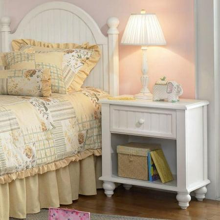Hillsdale Westfield Cottage White Nightstand