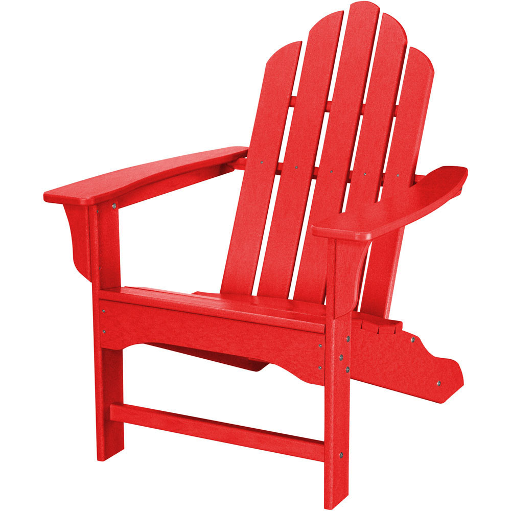 Hanover Outdoor Furniture All-Weather Contoured Adirondack Chair