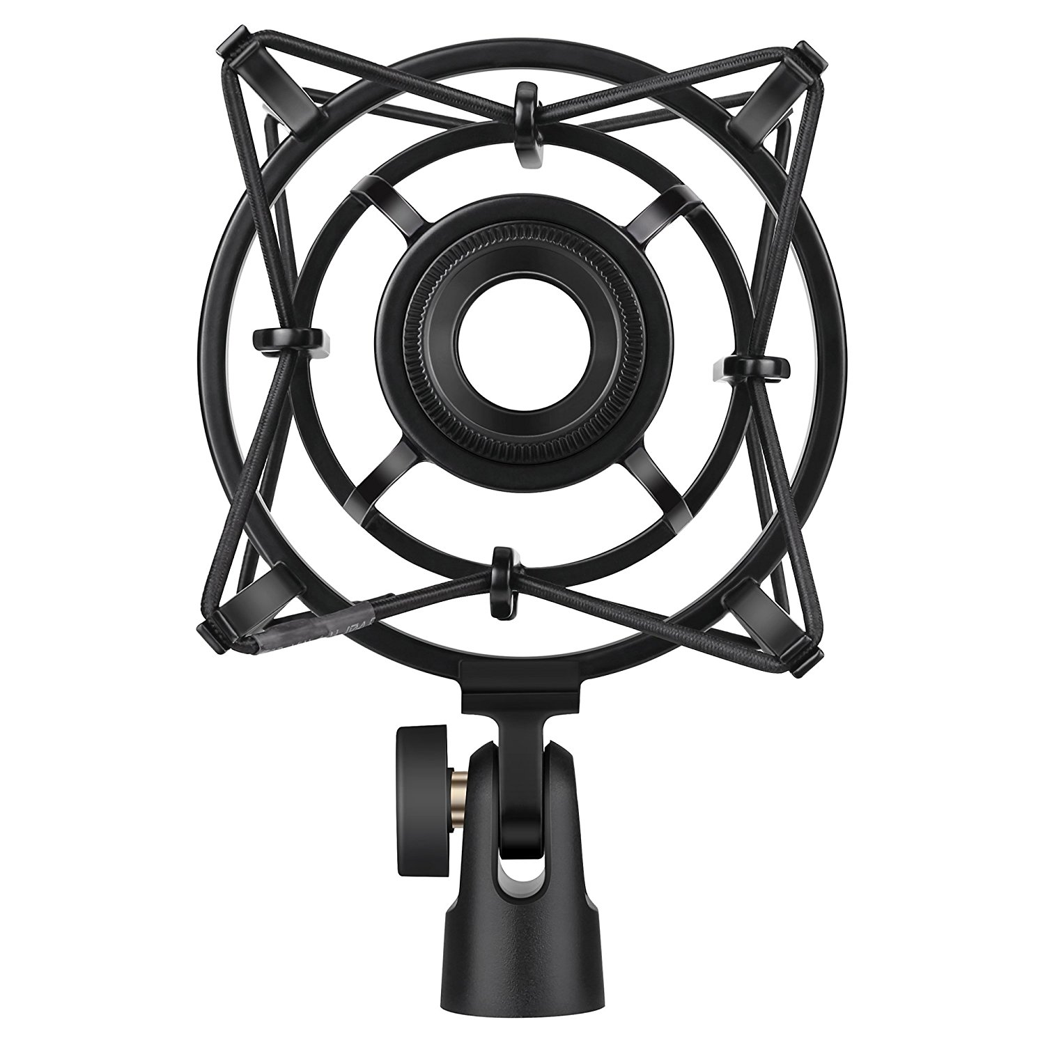 BC Master Universal Microphone Shock Mount Stand for Large Diameter Condenser Microphone,... by