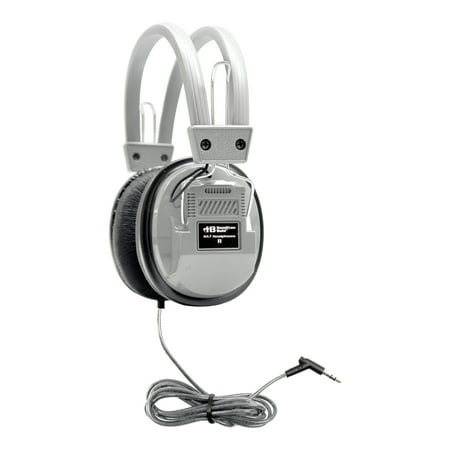 HamiltonBuhl SchoolMate Deluxe Stereo Headphone with 3.5mm Plug