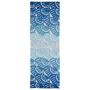 Kaleen Matira Hand-Tufted Blue Indoor/Outdoor Area Rug