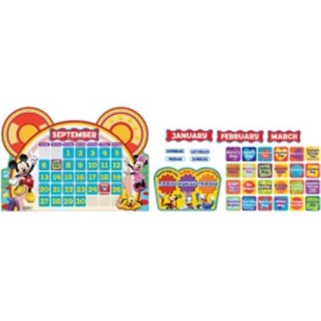 Eureka EU-847535 Mickey Mouse Clubhouse Calendar Set (Mickey Mouse Calendar)