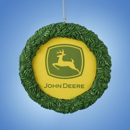 Wreath Personalized Christmas Ornament (Kurt S. Adler 3.75