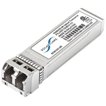 Solarflare SFM10G-SR SFP+ Module – 1 x 10GBase-SR10 Gbit/s
