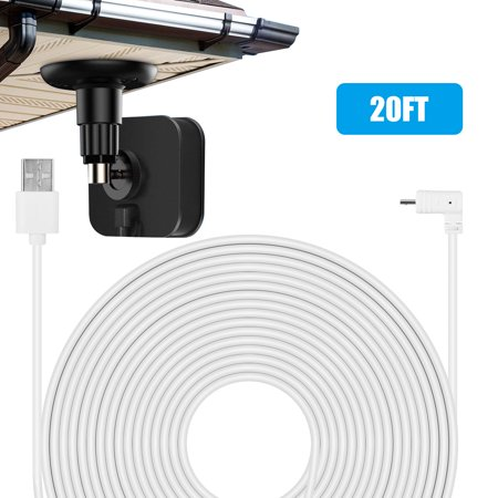 Eeekit 6m 20ft Usb Charger Cable Weatherproof Power