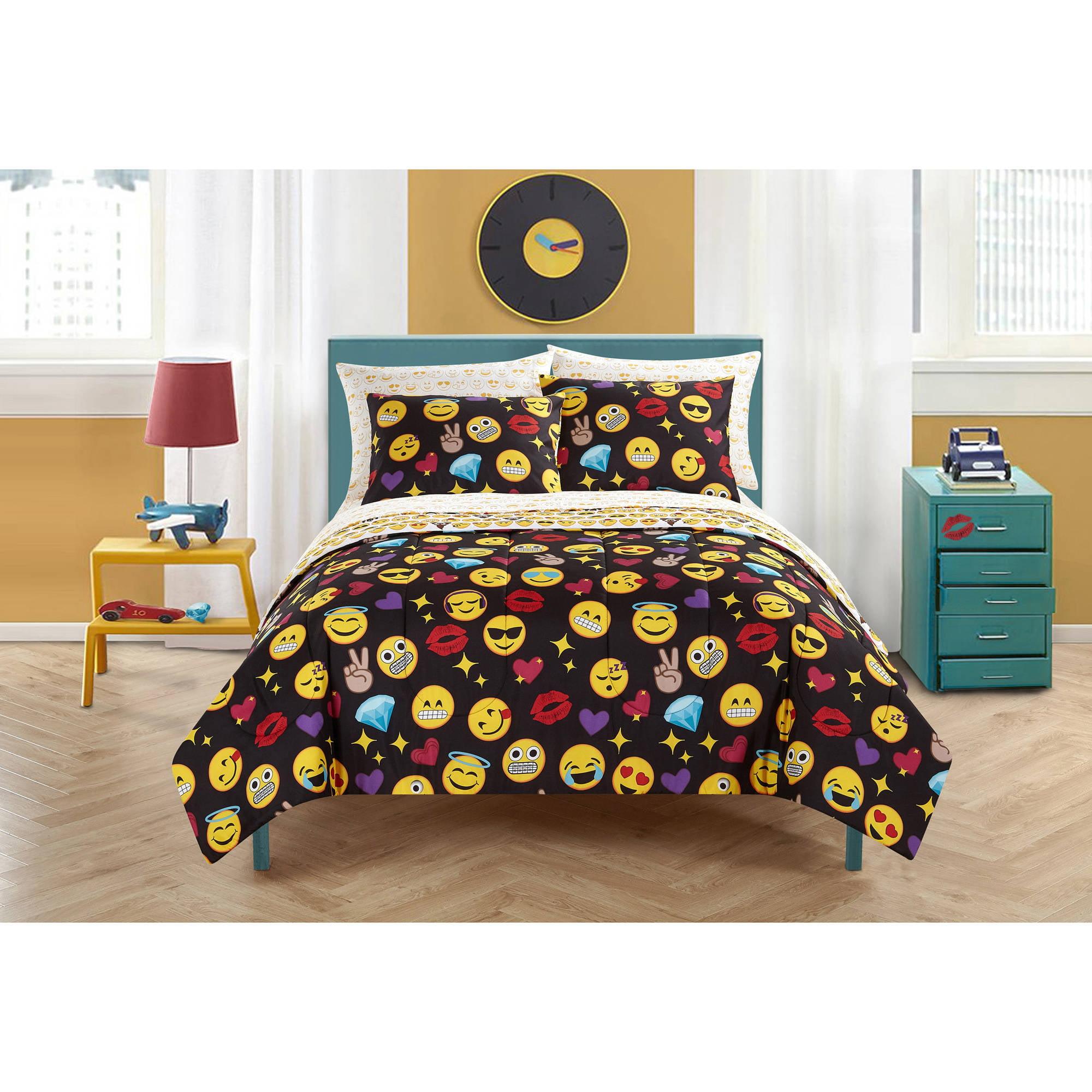 Emoji Pals Bed In A Bag Bedding Set Walmart Com