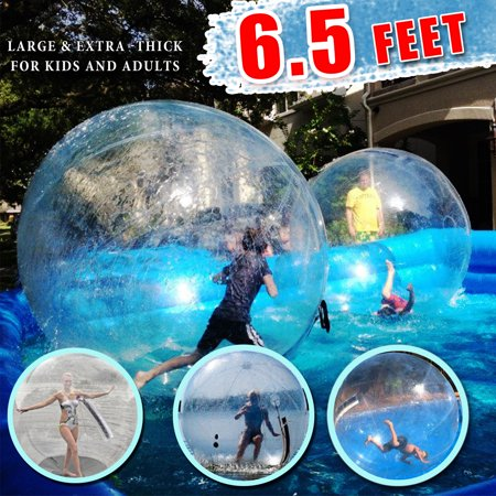 Led Pool Balls (PVC 2M 6.5ft Water Walking Inflatable Ball Zorb Ball German Zipper)