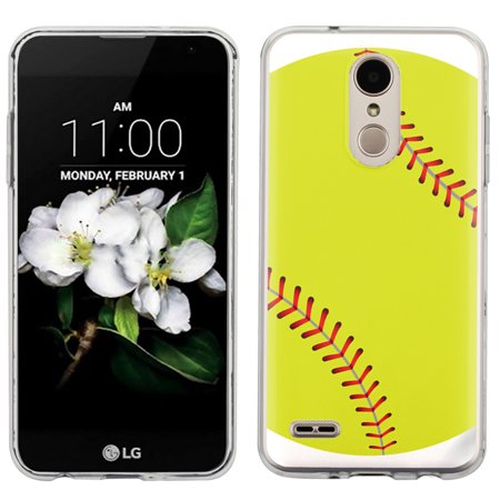 Slim Case for LG Aristo 2 / Tribute Dynasty, OneToughShield ® Scratch-Resistant TPU Protective Phone Case - Softball Green