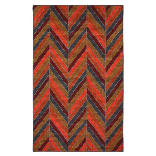 Mohawk Select Outdoor/Patio Herringhone Stripe Rug