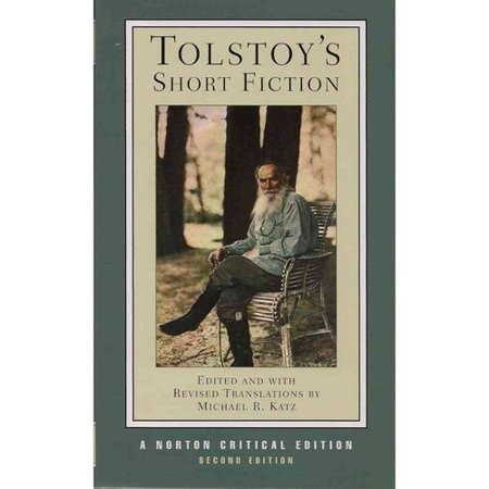 Tolstoys Short Fiction by