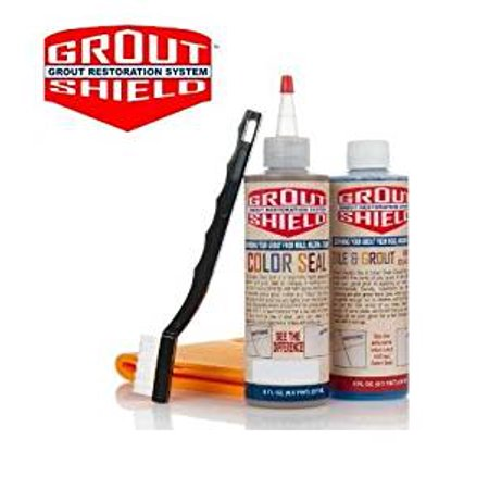 - Grout Shield GS8IAL 8-Ounce Color Seal Kit, Almond