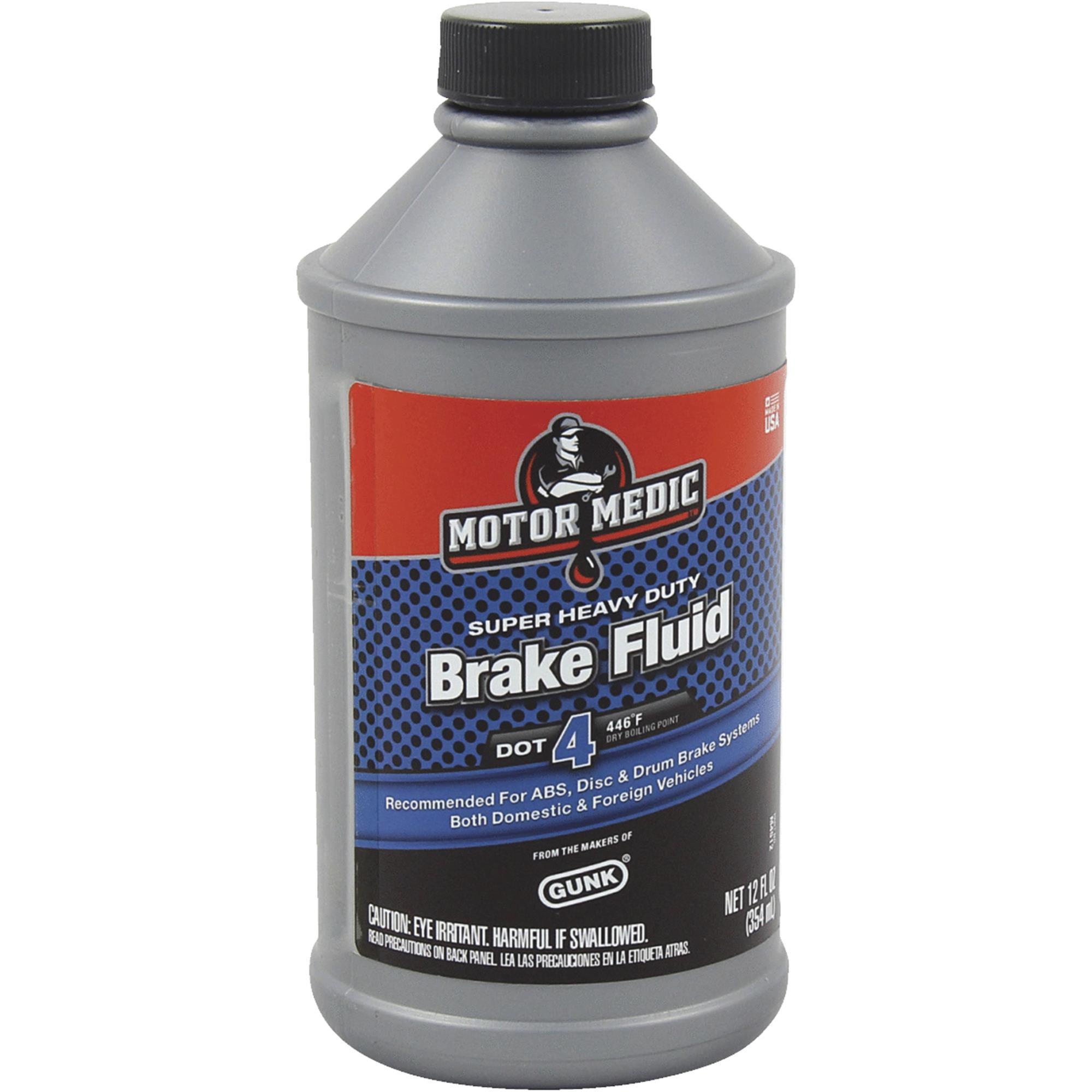 MotorMedic Super Heavy-Duty DOT 4 Brake Fluid