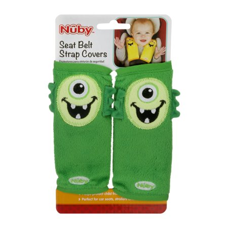 Baby Strap Cover - Nuby Seat Belt Strap Covers, 1.0 CT