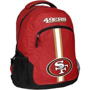Forever Collectibles NFL San Francisco 49ers Action Stripe Logo Backpack