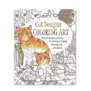 Cat Designs Coloring Art