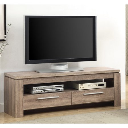 Coaster Contemporary Floating Top TV Console for TVs up to 46″